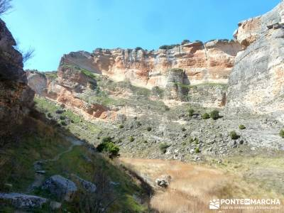 Cañón del Río Salado; Embalse El Atance; bola del mundo hoces del duraton san mames la pedriza